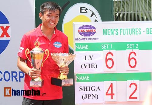 Vô địch Men's Futures, Hoàng Nam sẽ đại tiến 200 bậc - 1