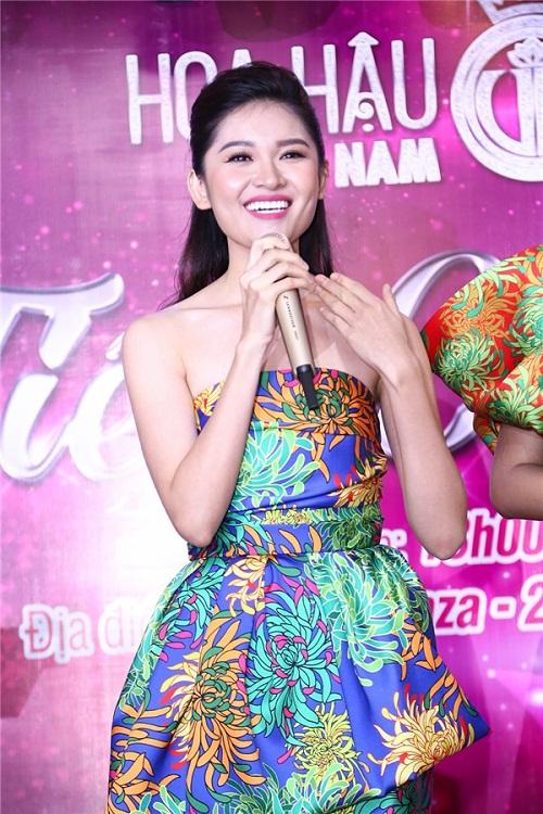 Hoa hậu Mỹ Linh đọ sắc cùng 2 á hậu - 6