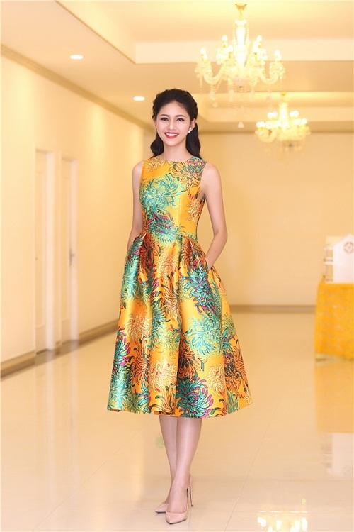 Hoa hậu Mỹ Linh đọ sắc cùng 2 á hậu - 8