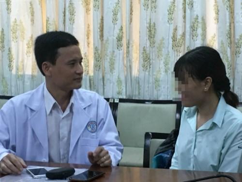Nữ sinh đầu tiên của Việt Nam mắc lao gan hiếm gặp - 1