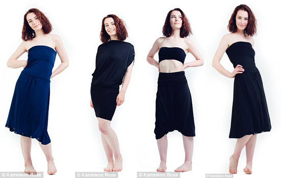 Biến hóa 1001 kiểu trang phục chỉ với một chiếc váy - 3