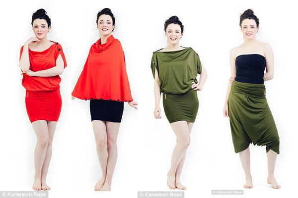 Biến hóa 1001 kiểu trang phục chỉ với một chiếc váy - 4