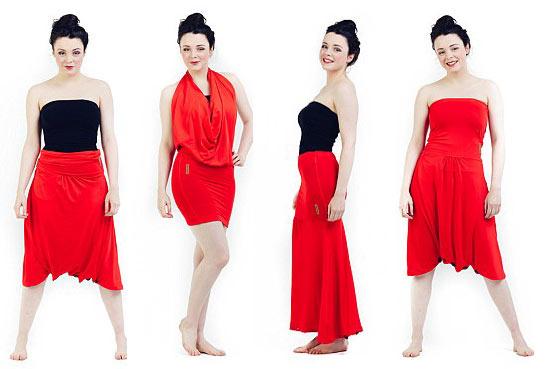 Biến hóa 1001 kiểu trang phục chỉ với một chiếc váy - 2