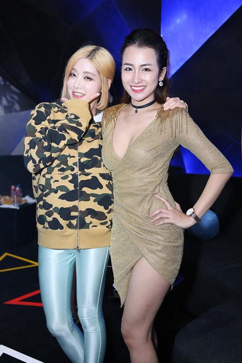 Trang Moon gợi cảm chơi nhạc cùng DJ sexy nhất Hàn Quốc - 4