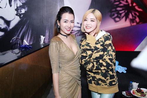 Trang Moon gợi cảm chơi nhạc cùng DJ sexy nhất Hàn Quốc - 5