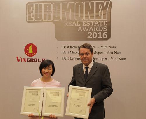"""Vingroup được tôn vinh """"tốt nhất Việt Nam"""" ở 3 giải thưởng BĐS quốc tế - 1"""