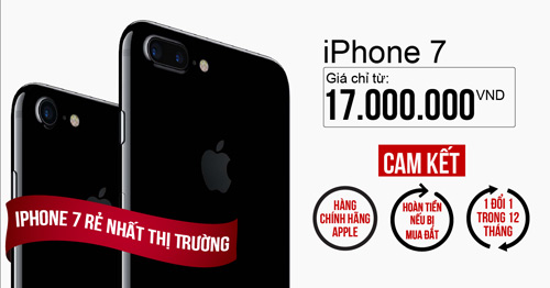 iPhone 7 bình ổn giá còn 17 triệu hút khách - 4