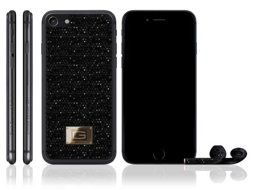 """iPhone 7 đính 1.450 viên kim cương đen giá siêu """"khủng"""" - 1"""