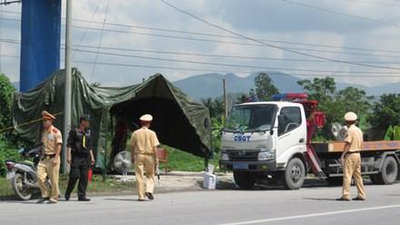 Chốt chặn mọi cửa ngõ Quảng Ninh để truy bắt kẻ thủ ác - 1