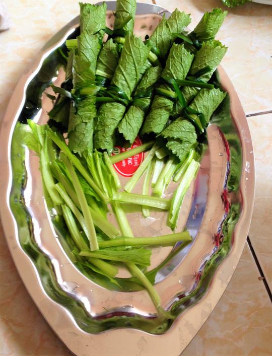 Thanh đạm cùng cá thác lác cuộn cải bẹ xanh - 4