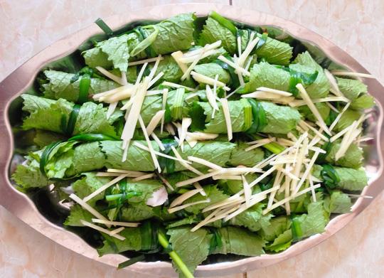 Thanh đạm cùng cá thác lác cuộn cải bẹ xanh - 5