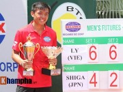 Thể thao - Vô địch Men's Futures, Hoàng Nam sẽ đại tiến 200 bậc