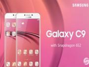 Dế sắp ra lò - Lộ ảnh Samsung Galaxy C9 dùng RAM 6GB