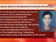 Truy tìm nghi can sát hại 4 bà cháu ở Quảng Ninh