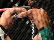 """UFC: 60 giây, đấm đối thủ """"đổ như chuối"""""""