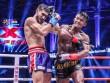 """Nóng: """"Hoàng tử Muay Thái"""" đả bại nhà vô địch Pháp"""