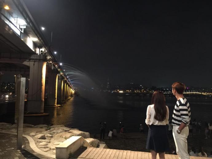 """Nhã Phương tươi rói bên """"bạn trai"""" Hàn Quốc - 3"""