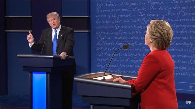 Tranh luận trực tiếp: Bà Clinton phản đòn, lấn lướt Trump - 6