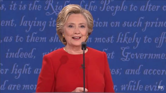 Tranh luận trực tiếp: Bà Clinton phản đòn, lấn lướt Trump - 7