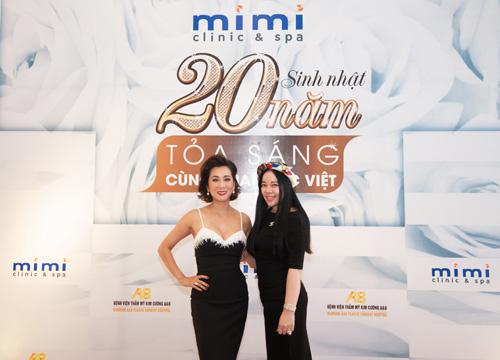 Dàn sao hải ngoại mừng sinh nhật 20 năm của Mimi Clinic Spa - 1
