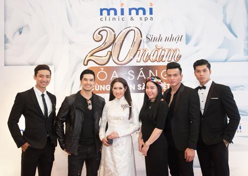 Dàn sao hải ngoại mừng sinh nhật 20 năm của Mimi Clinic Spa - 2