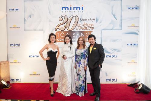 Dàn sao hải ngoại mừng sinh nhật 20 năm của Mimi Clinic Spa - 3