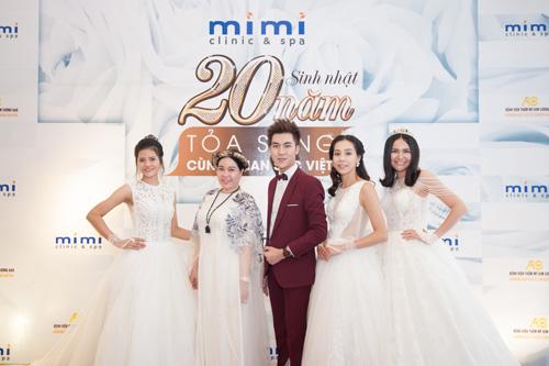 Dàn sao hải ngoại mừng sinh nhật 20 năm của Mimi Clinic Spa - 6