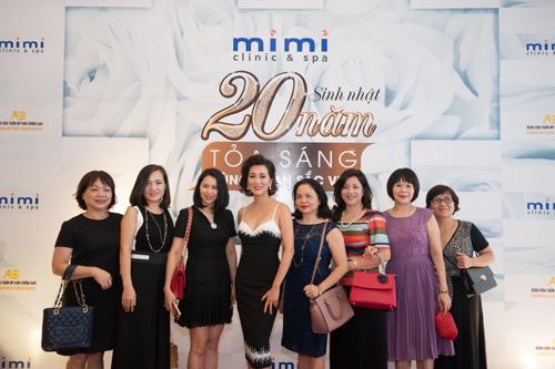 Dàn sao hải ngoại mừng sinh nhật 20 năm của Mimi Clinic Spa - 8