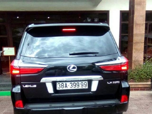 Hàng loạt xe sang treo biển giả siêu đẹp ở Hà Tĩnh - 2