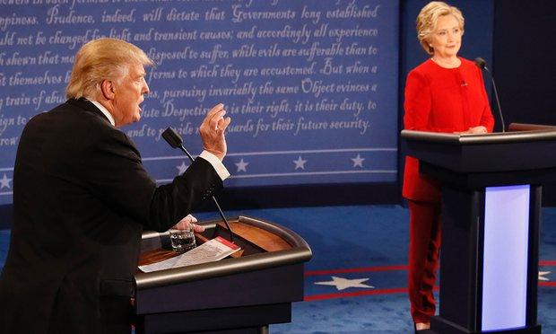 Tranh luận trực tiếp: Bà Clinton phản đòn, lấn lướt Trump - 4