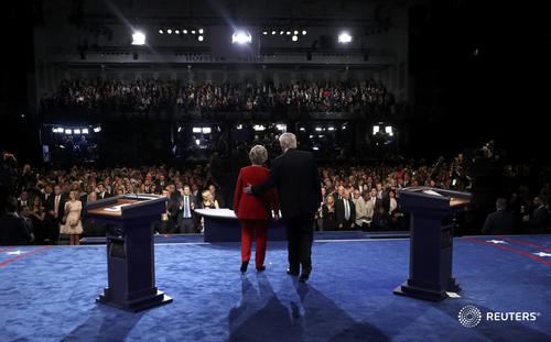 Tranh luận trực tiếp: Bà Clinton phản đòn, lấn lướt Trump - 5