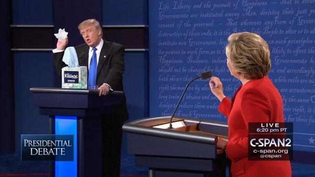 Trump dùng cocaine trong cuộc tranh luận trực tiếp? - 2