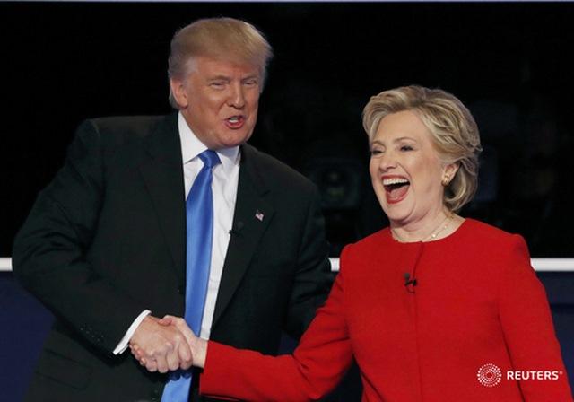 Tranh luận trực tiếp: Bà Clinton phản đòn, lấn lướt Trump - 3