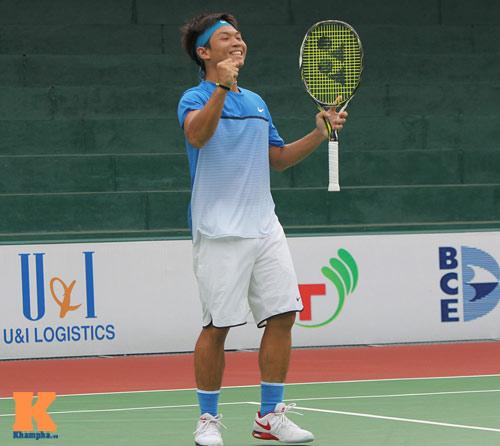 Hoàng Nam đả bại tay vợt hơn 223 bậc ở F6 Việt Nam - 2