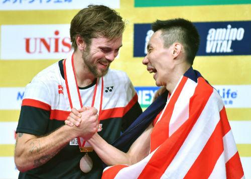 Tin thể thao HOT 27/9: Lee Chong Wei lần thứ 6 vô địch Nhật Bản - 1