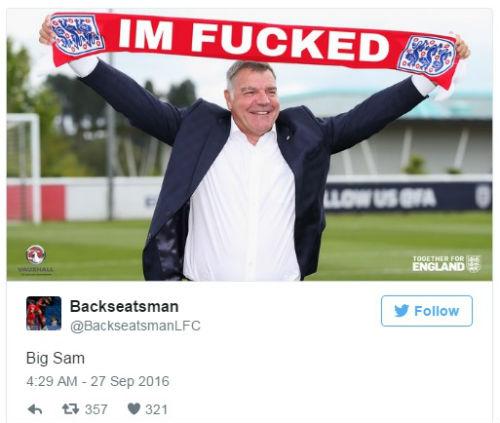 ĐT Anh: Allardyce thừa nhận nguy cơ mất ghế hậu scandal - 5