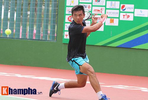 Hoàng Nam đả bại tay vợt hơn 223 bậc ở F6 Việt Nam - 1