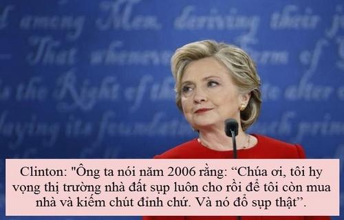 """""""Soi"""" điểm chính trong màn đấu khẩu giữa Trump-Clinton - 2"""