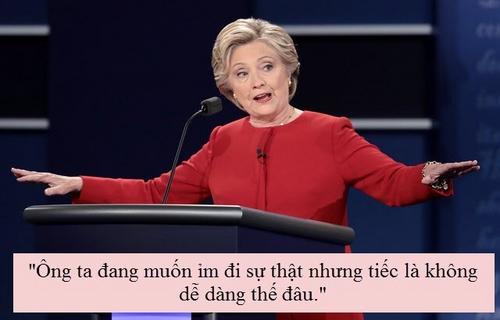 """""""Soi"""" điểm chính trong màn đấu khẩu giữa Trump-Clinton - 7"""
