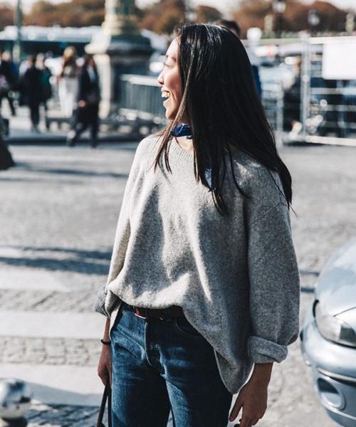 Vì sao bạn luôn cần một chiếc áo len mỏng? - 4