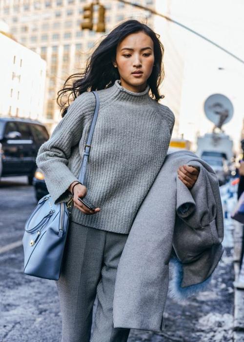 Vì sao bạn luôn cần một chiếc áo len mỏng? - 12