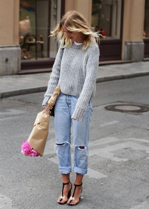 Vì sao bạn luôn cần một chiếc áo len mỏng? - 15