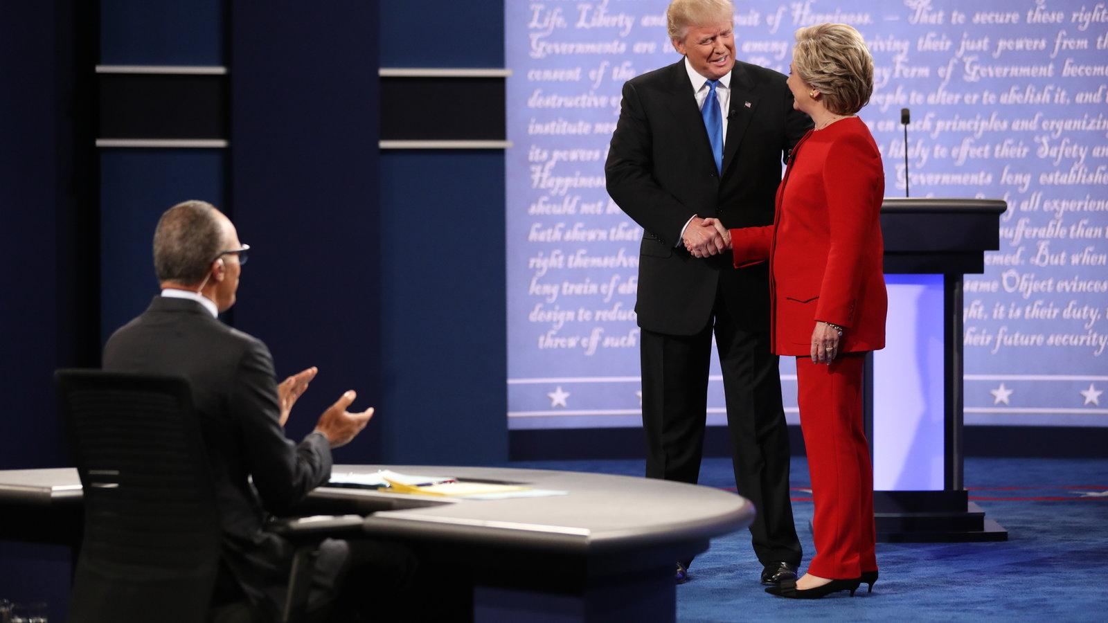 Bình chọn sau tranh luận trực tiếp: bà Clinton thắng ngọt - 3