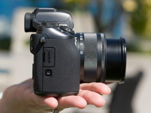 Canon EOS M5 - camera không gương lật đầu tiên của Canon - 3