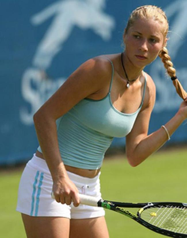 Alona Bondarenko. Ukraine, sinh năm 1984. Cô là tay vợt ở dạng trung bình khá, từng vươn lên vị trí 19 thế giới.