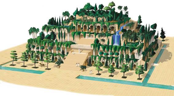 Lộ bản sao vườn treo Babylon gần nguyên vẹn sau 2000 năm - 3