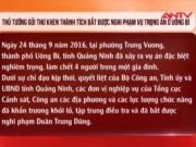 Thủ tướng gửi thư khen CA phá vụ thảm án ở Quảng Ninh