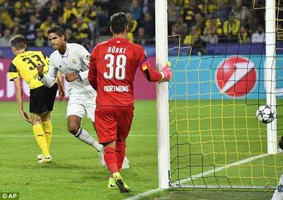 Chi tiết Dortmund – Real Madrid: Cú sút trái phá (KT) - 5