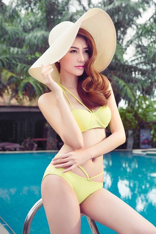 Giải đồng Siêu mẫu gây choáng ngợp với bikini gợi cảm - 2