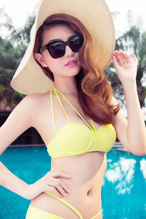 Giải đồng Siêu mẫu gây choáng ngợp với bikini gợi cảm - 3